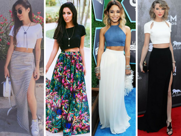 moda | moda 2017 | moda 2016 | roupas | looks de verao | moda verao 2017 | top cropped | looks com top cropped