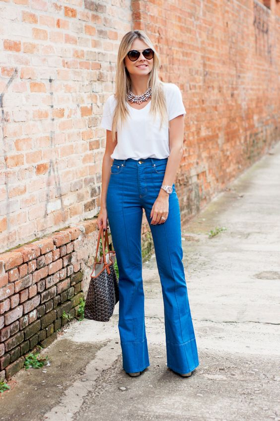 fashion tips summer clothes flare pants