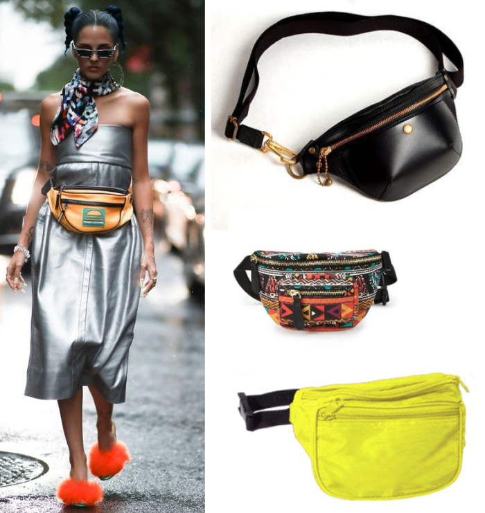 pochete | moda | acessórios | bolsa | moda 2018 | moda 2019 | verão 2019 | tendencias verão 2019 | pochetes