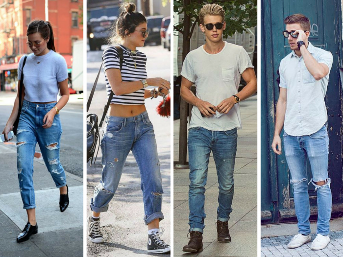 fashion | history of fashion | denim pants | boyfriend pants | how to use denim pants | denim trousers | denim jeans