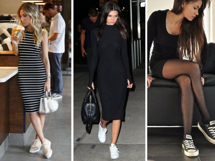 moda | roupas da moda | vestidos | vestido com tenis | como usar vestido e tenis | moda 2019 | skater dress