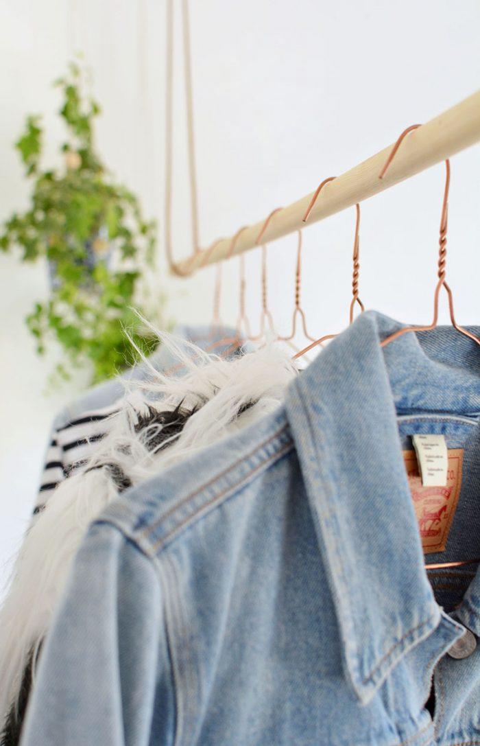 do it yourself | DIY | cabideiro | faça você mesma | cabideiro de roupas | para fazer em casa