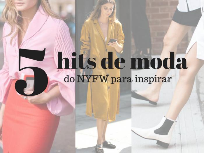 moda 2017   semanas de moda   dicas de moda   NYFW   moda feminina   tendencias de moda   looks de rua do NYFW