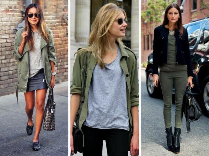 moda 2017 | semanas de moda | dicas de moda | NYFW | moda feminina | tendencias de moda | looks de rua do NYFW | verde militar | verde exército