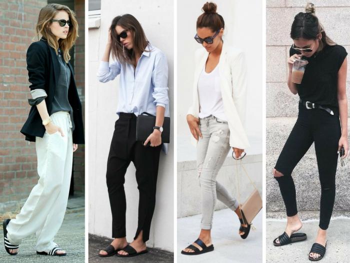 moda   moda e estilo   slide   slider   chinelo da moda   chinelo   chinelo nike   looks com slide shoes   look com slide sandals   moda 2016   moda 2017   moda verão 2017