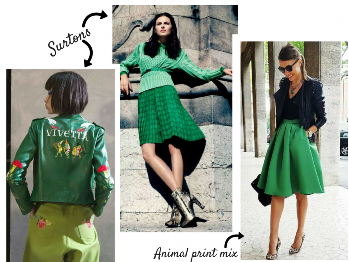 fashion | fashion tips | greenery | color of 2017 | the color for 2017 | greenery outfits | female fashion | autumn winter | summer | fashion 2017