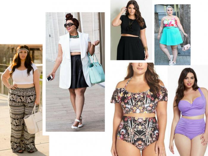 moda | moda feminina | moda plus size | moda plus size 2017 | tendencias 2017 | biquini cropped | hot pant | top cropped