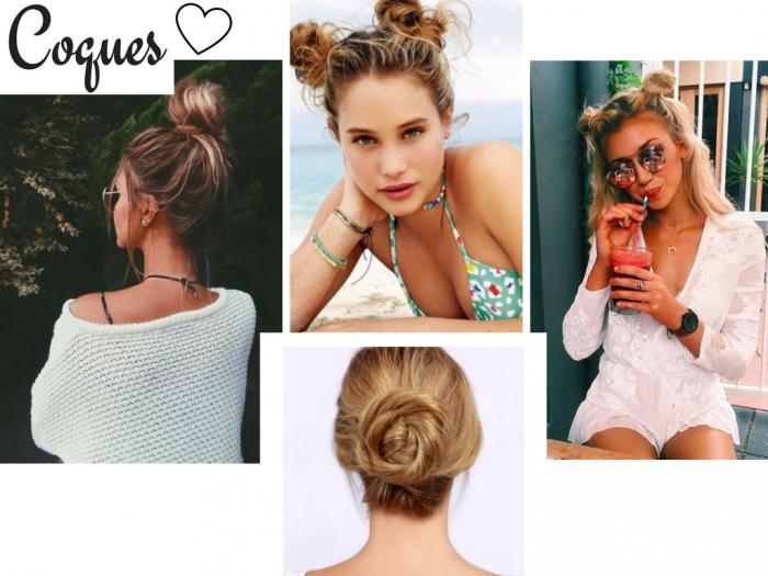 penteados de verao | beleza | cabelos | cabelos de verao | moda 2017 | moda verao 2017 | penteado | penteado cabelo curto | meio preso meio rabo | coque | cabelo com lenco