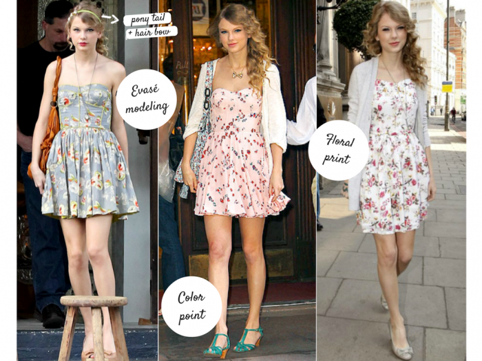 Taylor Swift Inspires Summer And Romantic Outfits Lindizzima Blog By Marceli Paulino