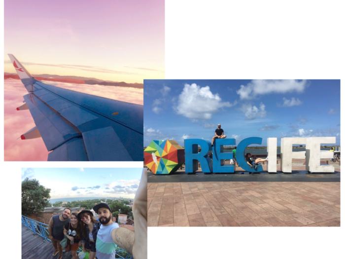 entretenimento | viagem | vlog | viagem a recife | recife | pernambuco | bate e volta em recife