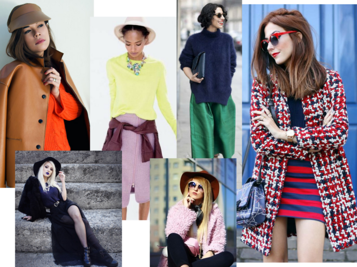 moda | moda 2017 | manual de cores | as cores | combinação de cores | roupas | looks | moda inverno | color block | color blocking