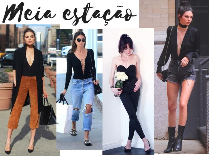 moda | moda 2017 | moda 2018| body preto | looks com body | moda feminina | roupas | body | tendências