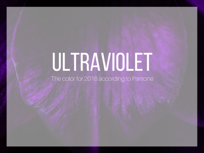 fashion | trends | 2018 fashion | ultraviolet | pantone 2018's color | fashion tips | pantone ultraviolet