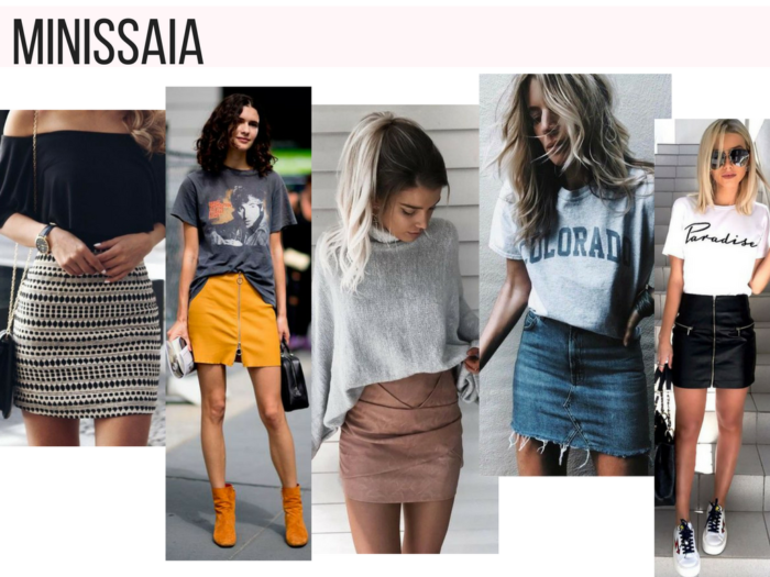 moda 2018 | moda | looks | saias | saia | manual da saia | looks com saia