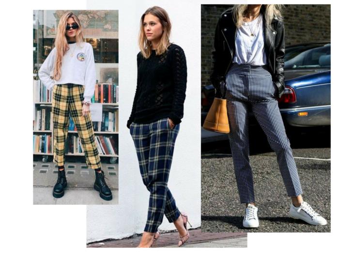 moda | moda inverno 2018 | calça xadrez | calça xadrez feminina | tendencia inverno 2018