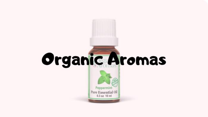 organic aromas } diffuser | essential oil | aromatherapy
