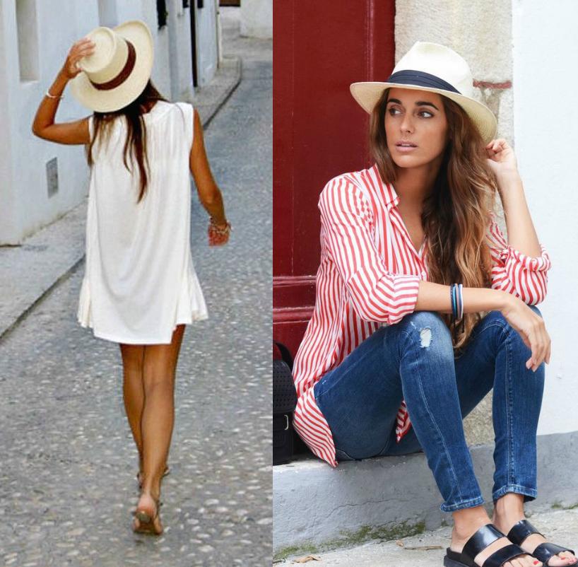 Look de praia  chapéu panamá - Lindizzima Blog  13a06fd3a7d